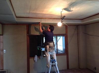 天井もきれいになった!